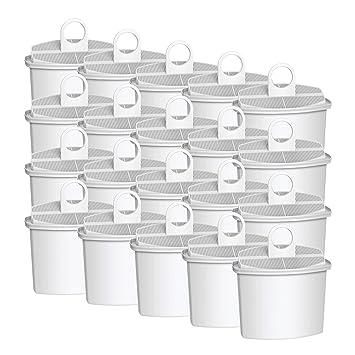 Vyair AQK-12 - Filtro de agua para máquina de café Braun Brita KWF2, Braun KF130, KF140, KF550, KF560 (20): Amazon.es: Hogar