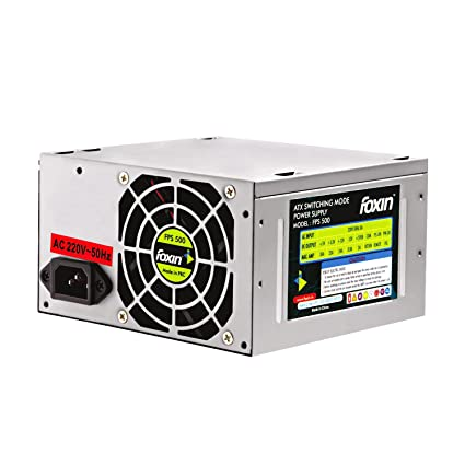 Amazon.in: Buy Foxin Computer Power Supply FPS 500S SMPS with Indian ...
