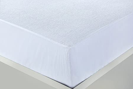 Clicktostyle 100 Cotton Waterproof Mattress Protector Terry Towel
