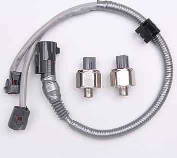 2x DENSO Knock Sensors /& harness for TOYOTA LEXUS Avalon Camry ES300 89615-12090