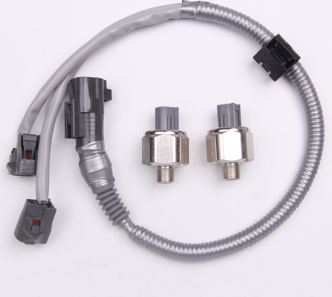 2 sets Knock Sensors & harness for TOYOTA LEXUS Avalon Camry ES300 89615-12090 Goodbest