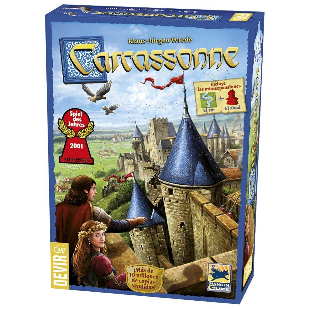 Devir Carcassonne juego de mesa versión castellano