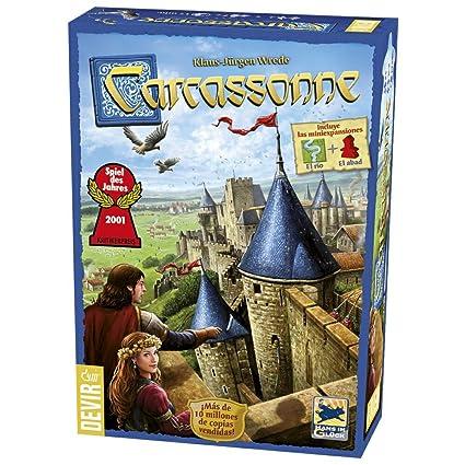 Resultado de imagen de carcassonne juego de mesa