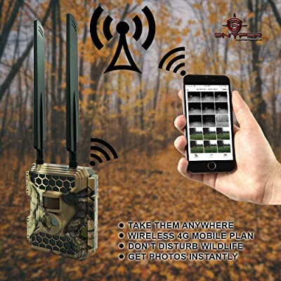 Multi-Network SIM Card - Snyper Commander 4G LTE Trail Camera 1080P