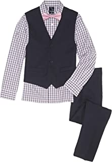 Izod Big Boys' Four Piece Formal Vest Set