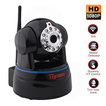 Amazon.com : HD 1080P Wireless IP Camera WiFi Home Security ...