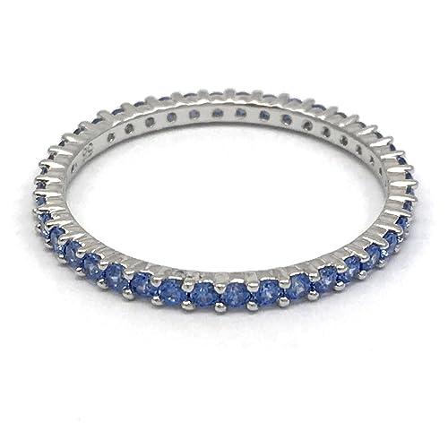 moda alta moda spedizione gratuita Swarovski - Anello Vittore rodiato, colore Blu, Taglia 60 ...