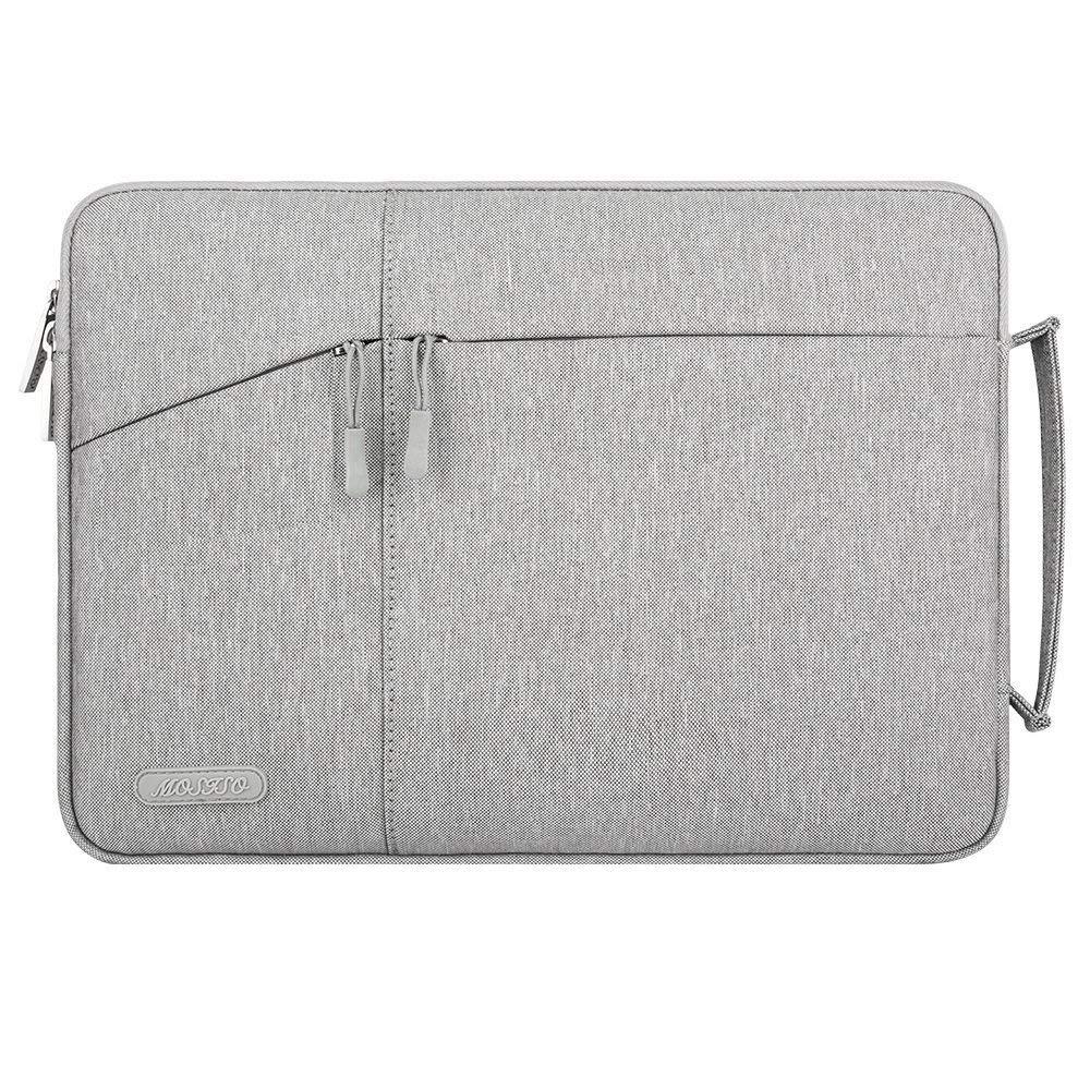 MOSISO Laptop Briefcase Polyester Double Layer Handbag Sleeve For Mac Pro Air 13