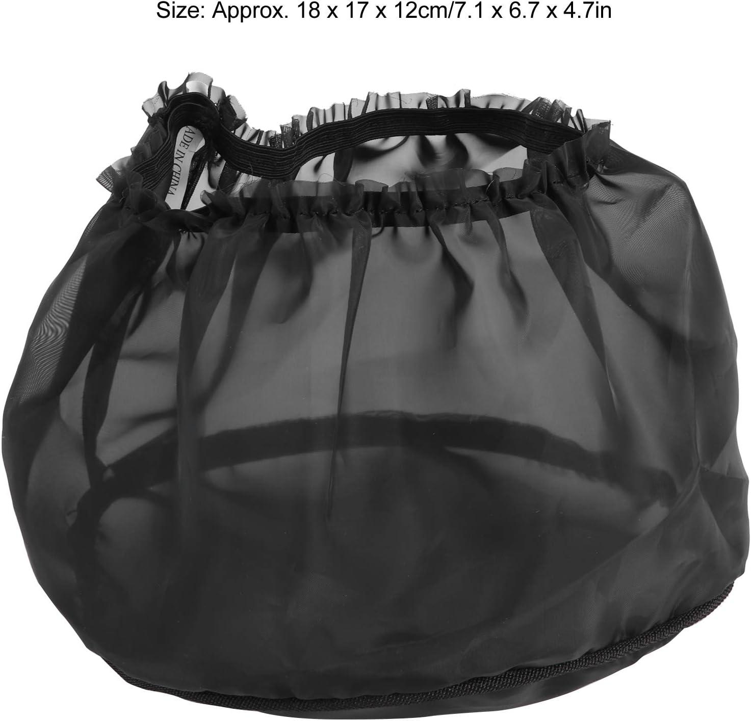 copertura antipioggia per filtro dellaria impermeabile universale parte per moto Calza antipioggia per filtro dellaria nera
