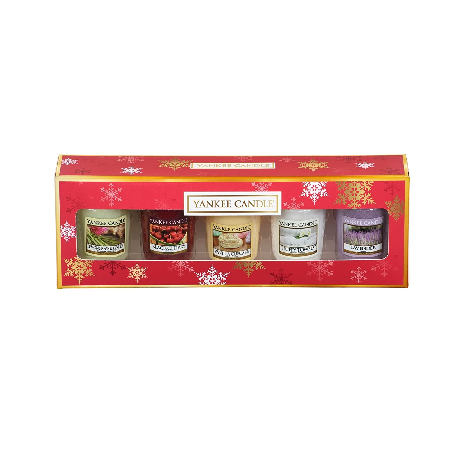 Yankee Candle Pack Of 5 Votive Candle Gift Set