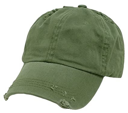 soft front baseball caps vintage polo style cap one size olive green white cotton