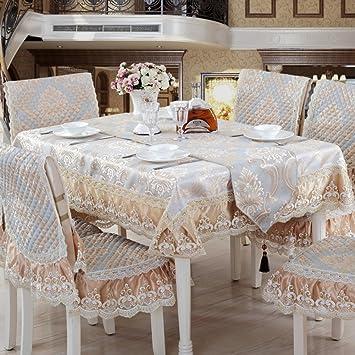 Europäisch Chinesischen Tycoon Esszimmer Stuhl Kissen,Esszimmerstuhl Kissen  Set Tischdecke,Tischdecke Stoff