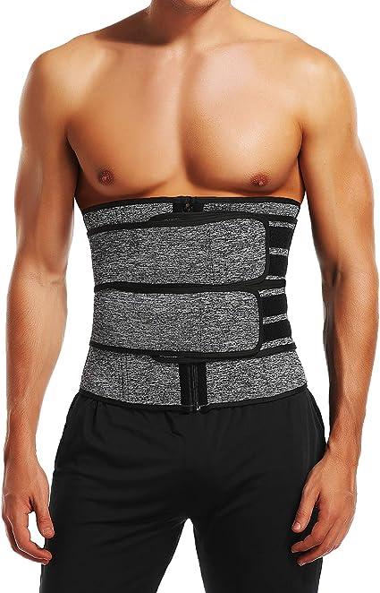 Waist Trimmer Corset  Men Waist Trainer Weight-Loss Abs Shaping Exercise Belt