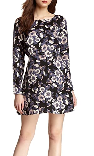Free People Parker Dress, Ink Combo (0, Ink)