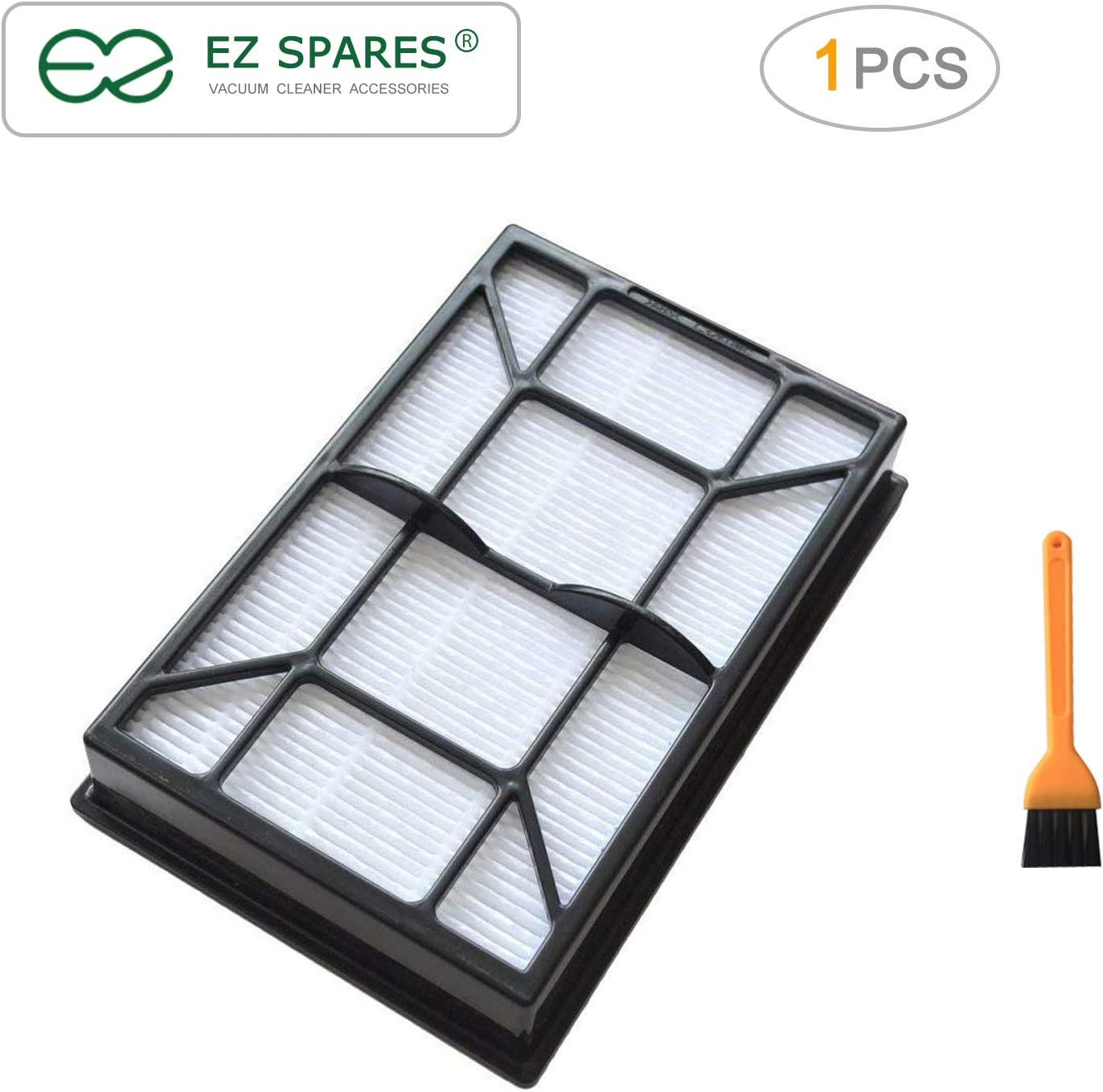 EZ SPARES Replacement Parts for Kenmore Hepa Vacuum Media Filter Ef-9#53296#40195 with Small Cleaning Brush by Kenmore