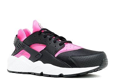 NIKE Damen WMNS Air Huarache Run Turnschuhe, Black (Schwarz Pink-Weiß  Explosion ffa5c0d044
