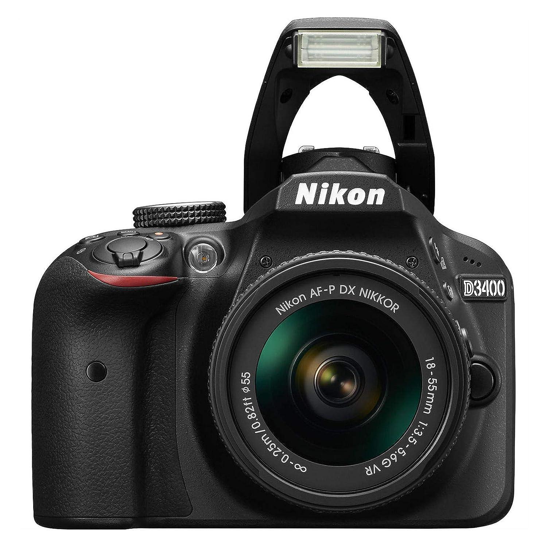 Nikon D3400 - Cámara réflex Digital + Objetivo AF-P DX NIKKOR 18-55 ...