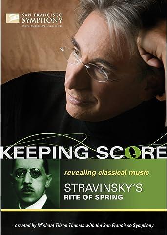 Stravinsky - Rite of Spring / Keeping Score [Blu-ray] [Import]