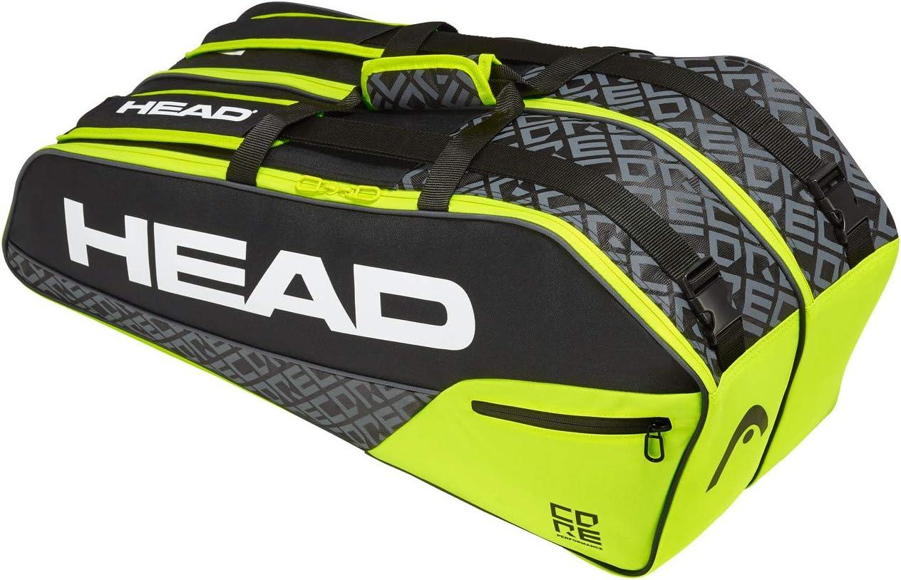 Head Core 6r Combi Bolsa de Tenis, Unisex Adulto