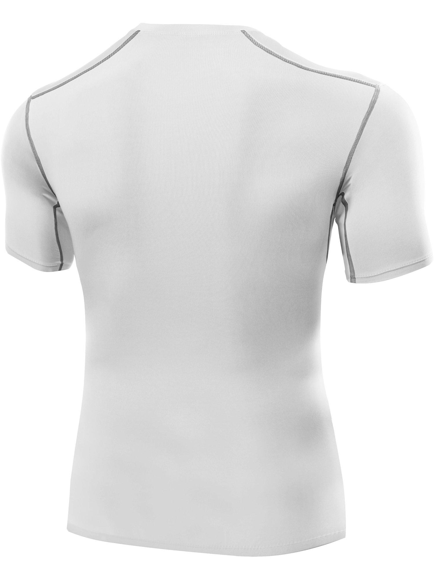 72b744ec335 Neleus Men s 3 Pack Workout Athletic Compression Shirts