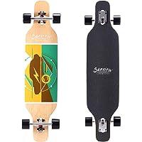 "SANVIEW 39"" Drop Through Longboard Skateboard Cruiser for Beginners"