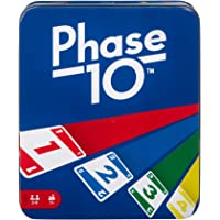 Mattel Games: The Official Phase 10 Tin [Amazon Exclusive]