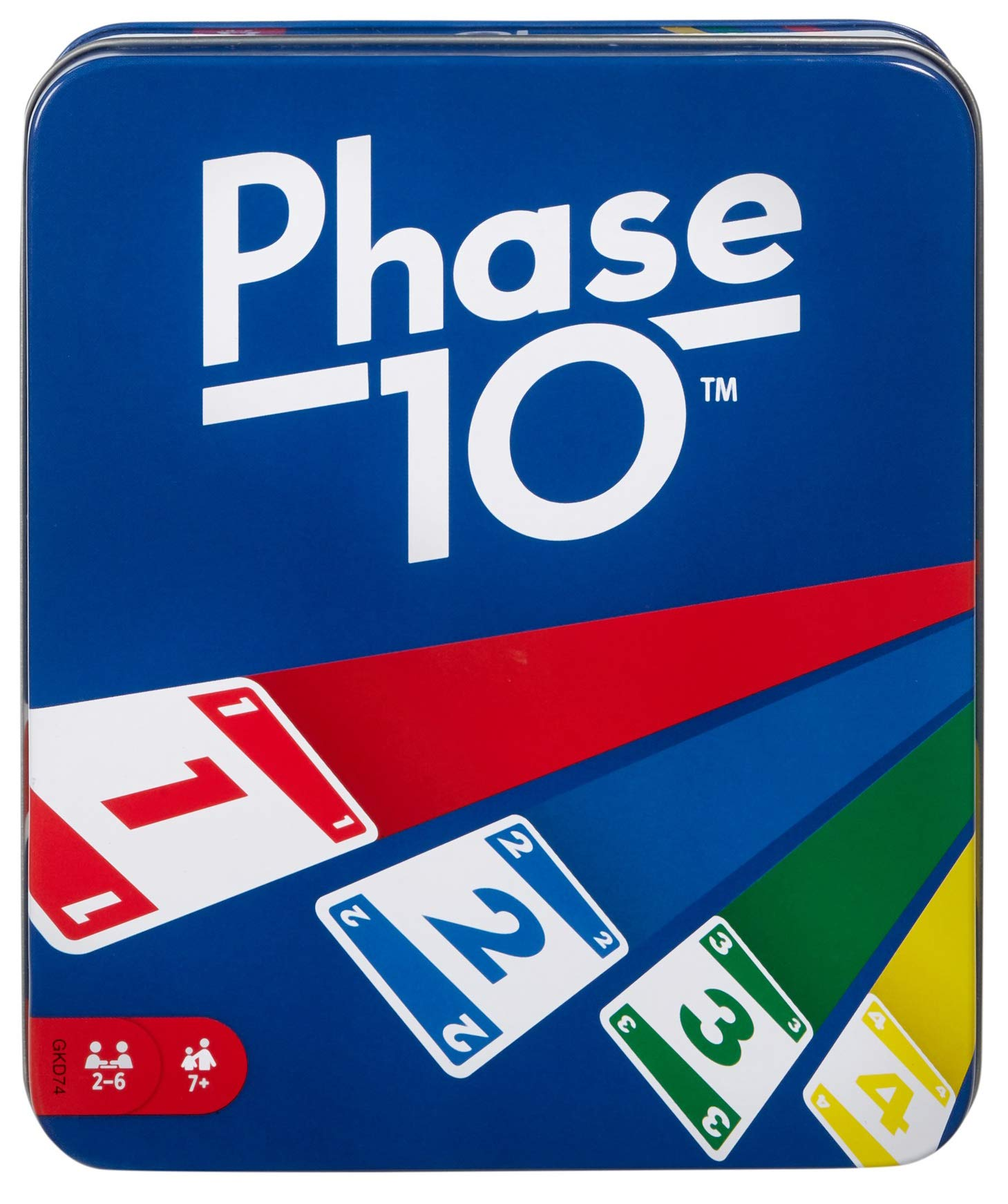 Phase 10 Card Game with 108 Cards, Makes a Great Gift for Kids, Family or Adult Game Night, Ages 7 Years and Older [Amazon Exclusive]