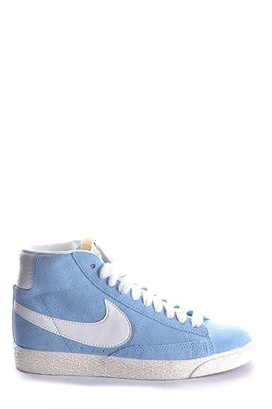 Nike Suède Mcbi222014o Bleu Femme Baskets Montantes LzVMpGqSU