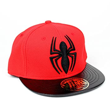 Marvel Comics Spiderman para hombre gorra snapback - The Amazing Spider-Man  logo Gorra de 868de41bcbf