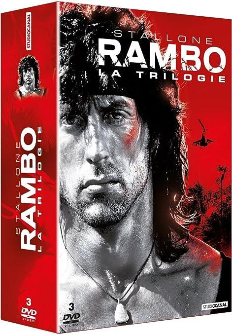 Rambo - Trilogie [Francia] [DVD]: Amazon.es: Sylvester Stallone, Richard Crenna, Martin Kove, Marc de Jonge, Kurtwood Smith, Spiros Focas, Sasson Gabai, Brian Dennehy, David Caruso, Jack Starrett, Bill McKinney, Michael Talbott, Charles