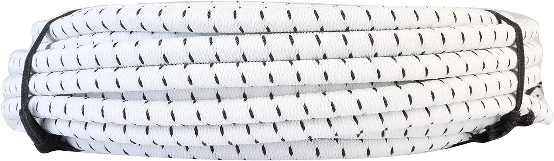 Fascia Elastica con Forte Elasticit/à per Polsini Abbigliamento Fai da Te Nero Crisis Corda Elastica Pantaloni Cavo Elastico Tondo da 7 mm 10 m//32,8 Piedi Abbigliamento Sportivo
