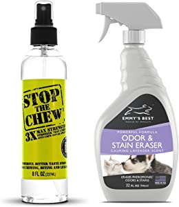 Ultimate Puppy Bundle - Contains Stop The Chew Spray and Pet Odor & Stain Eraser