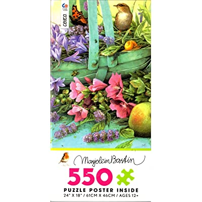 Ceaco - Summer Blooms by Marjolein Bastin - 550 Piece Jigsaw Puzzle: Toys & Games