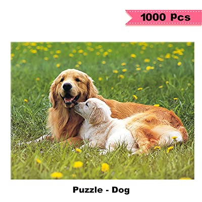 1000 Pieces Puzzle DIY Dog Puzzles Fun Game for Adults Imagination Series Puzzle Toys Jigsaw Puzzles for Creative Gift Home Décor: Toys & Games