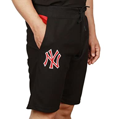 New Era Men Pants Short Diamond Era NY Yankees Black M  Amazon.co.uk   Clothing 8c947e888555