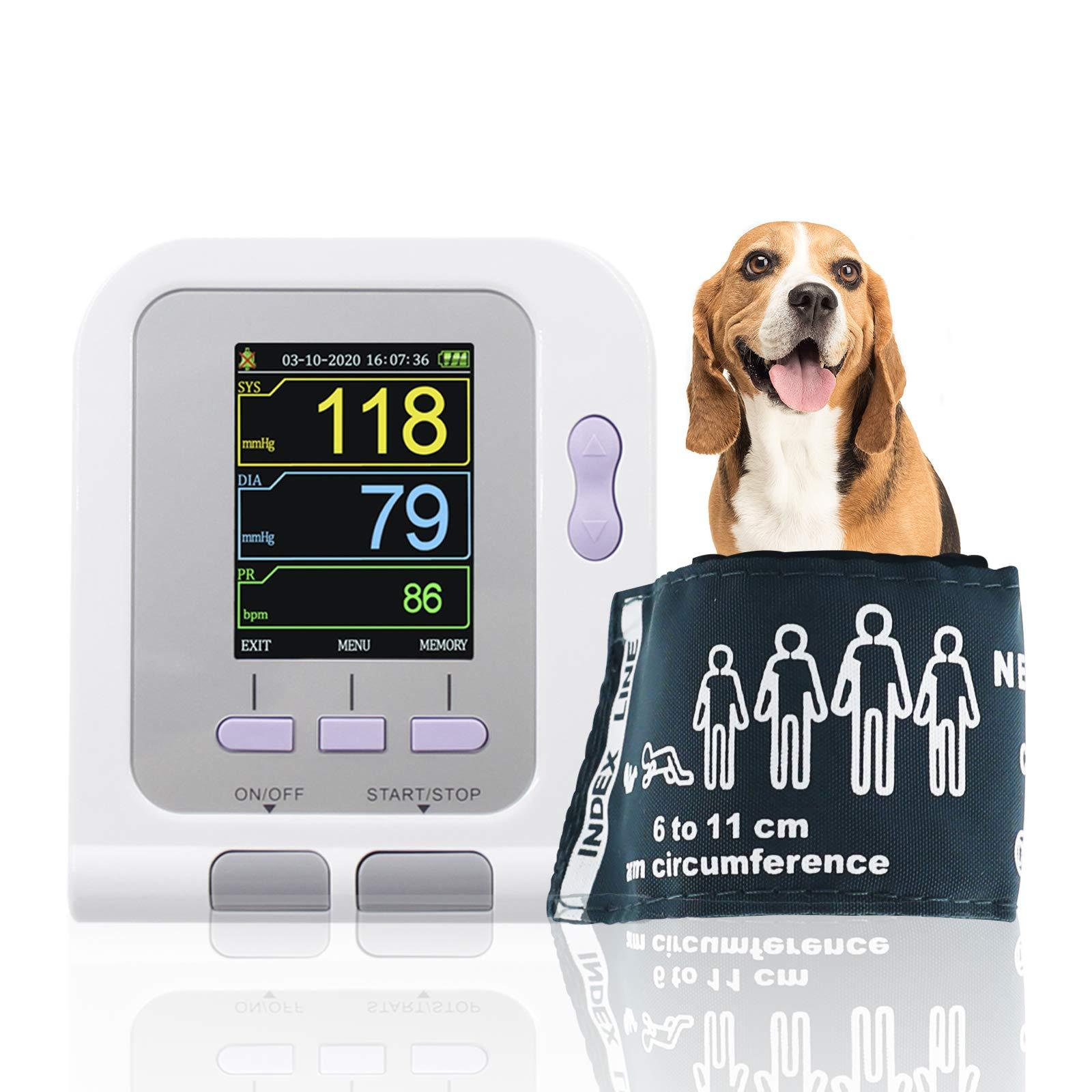 Vet Electronic Sphygmomanometer Automatic Blood Pressure Monitor Tonometer with PC Software CONTEC08A-VET