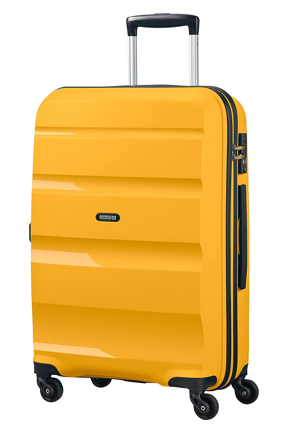 American Tourister Bon Air - Spinner Medium Bagage Cabine, 66 cm, 57.5 liters, Bleu (Blue Topaz)