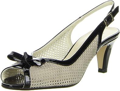 Damen Schuhe, Sling Pumps, Größe 38