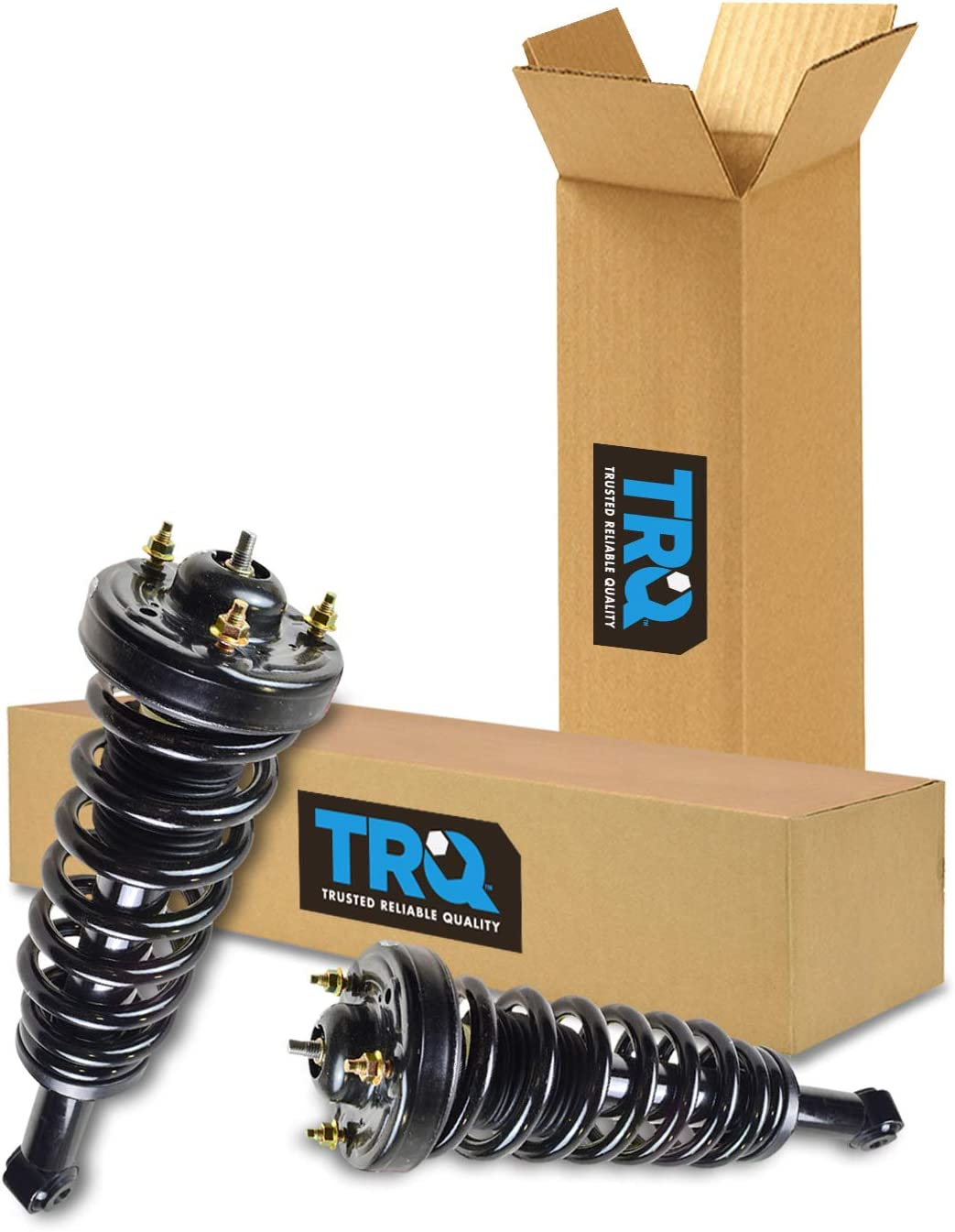 2 Suspension Strut and Coil Spring Assembly MacPherson Front For F150 4WD GAS