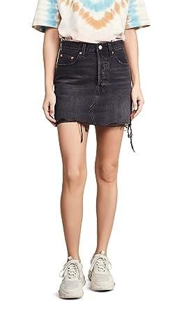 cd7b24505 Levi's Women's Deconstructed Skirt at Amazon Women's Clothing store: