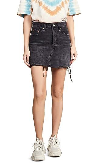 fbbda38e7c6df Levi's Women's Deconstructed Skirt