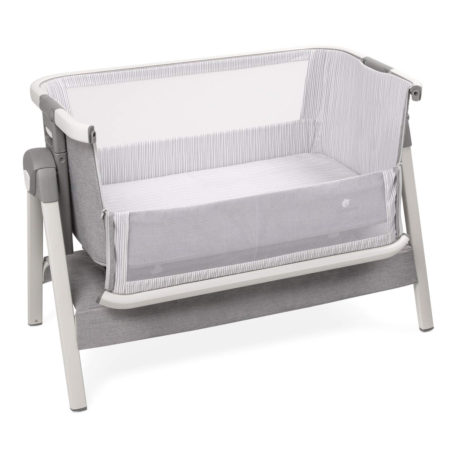 Bed Side Crib for Baby - Sleeper Bassinet Includes Travel Case, Mattress, Sheet, and Urine Pad - Keep Newborn Babies Close When in Your Bed - Bedside Bassinets by ComfyBumpy Co