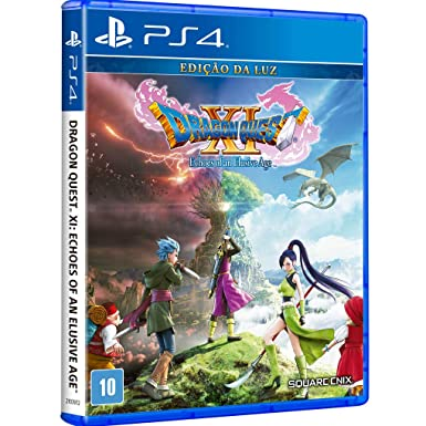 Jogo Dragon Quest Xi: Echoes Of An Elusive Age - Playstation 4 - Square Enix