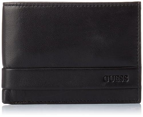 Guess - Sm0814lea20, Organizadores de bolsos Hombre, Marrone, 2.5x9.6x12.