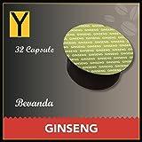 Yespresso Capsule Ginseng Compatibili per Nescafe Dolce Gusto - Confezione da 32 Pezzi