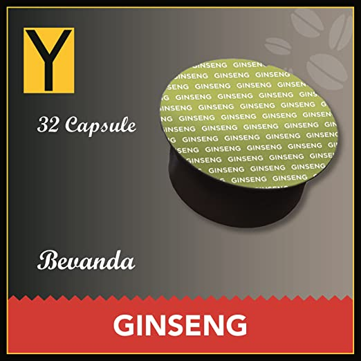 118 opinioni per Yespresso Capsule Ginseng Compatibili per Nescafe Dolce Gusto- Confezione da 32