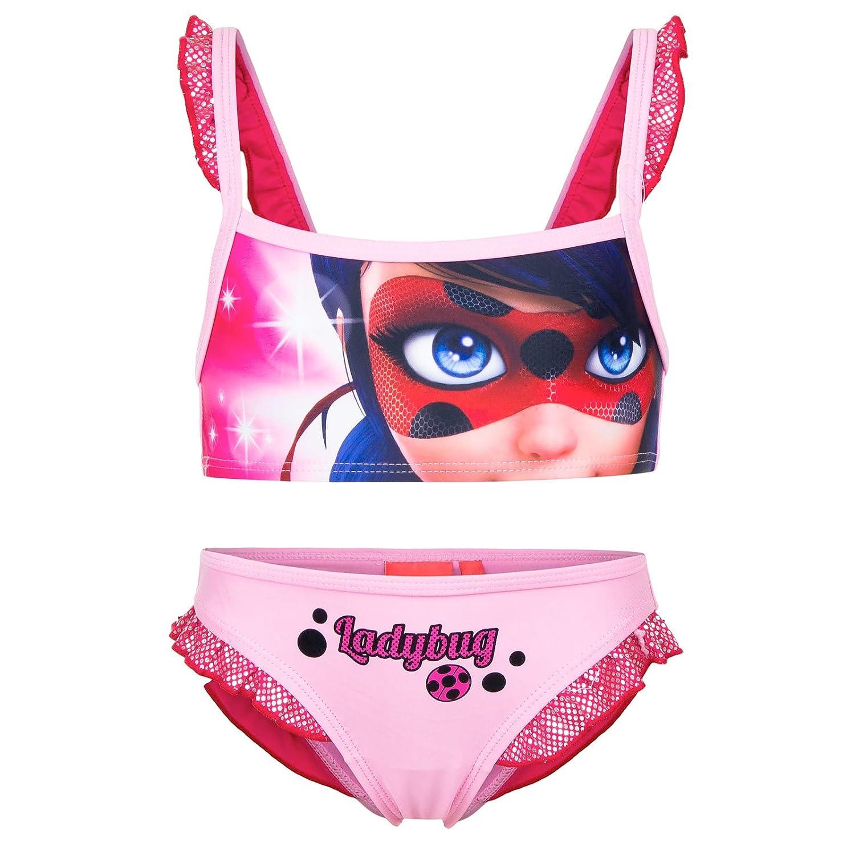 Miraculous - Bikini Traje de baño de 2 piezas - para niña ...