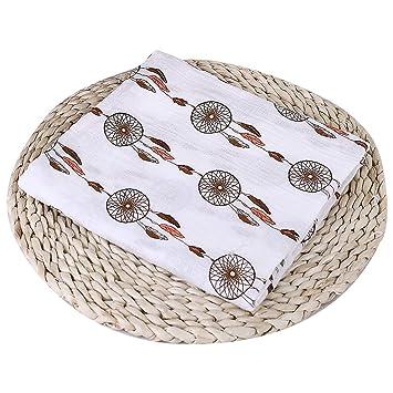 Baby Boy Girls Muslin Cotton Wrap Swaddling Blanket Newborn Infant Swaddle Towel