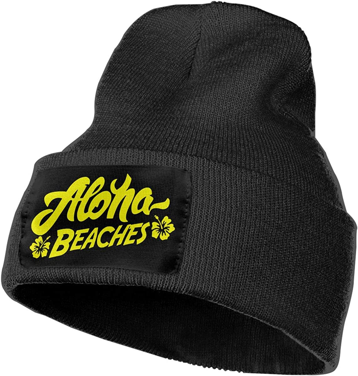 Unisex Aloha Beaches Outdoor Fashion Knit Beanies Hat Soft Winter Knit Caps