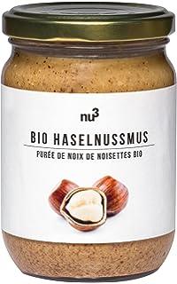 nu3 - Puré de avellanas Bio | 250g en tarro de vidrio | Mantequilla de calidad